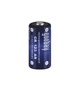 Akumuliatorius CR123A, li-on, 600mAh, 3,0V (LIR17335)NOVACELL